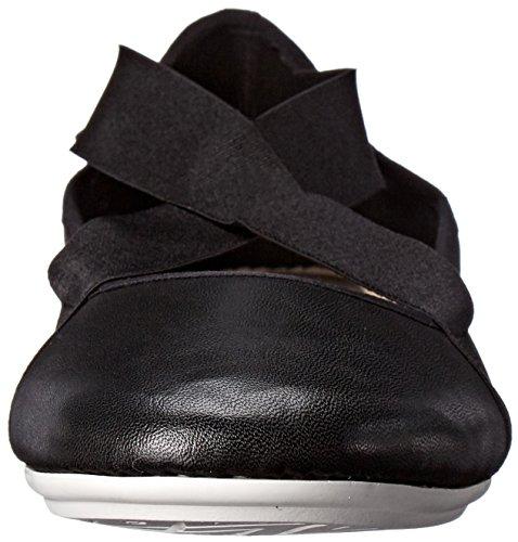 US Yandra Easy Spirit 6 Women's Multi Leather M Combo Pewter Flat Black qfwn18nR