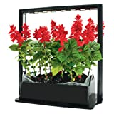Tucker's Pride TPG17 17W LED Mini Garden for Indoors, Black