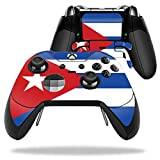 Cheap MightySkins Protective Vinyl Skin Decal for Microsoft Xbox One Elite Wireless Controller case wrap cover sticker skins Cuban Flag