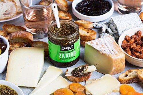 Zesty Z 2-Pack Mediterranean Za'atar (Zaatar/Zatar) Spread & Condiment, 7.5 oz (Pack of 2) by Zesty Z (Image #7)