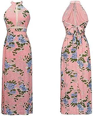 395ba27a2 ... de la túnica de Las Mujeres Vestido sin Mangas de Verano sin Respaldo de  la Vendimia Hermosos Vestidos de Fiesta Suaves para la ocasión Formal  Elegante ...