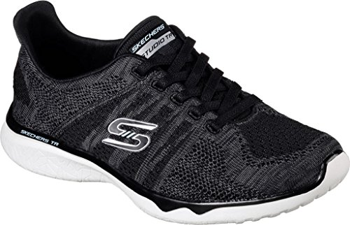 Skechers 23388 Sneakers Da Donna Nero / Bianco