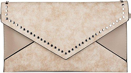 styleBREAKER - Bolso cruzados para mujer turquesa turquesa talla única pardo