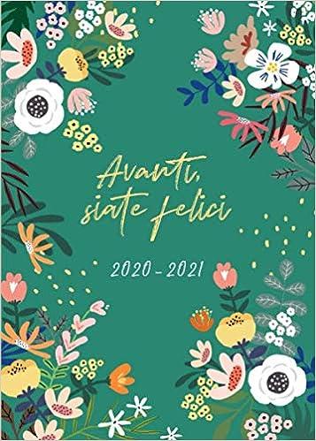 Calendario 2021 Luglio Dicembre Agenda 2020 2021 italiano: Calendario, Agenda Giornaliera 2020