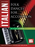 Italian Folk Dances for Accordion, Aldo Diianni, 0786682388