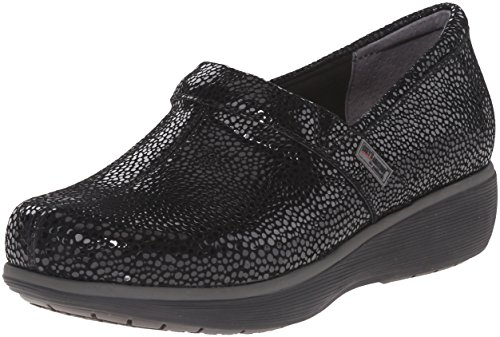 SoftWalk Womens Meredith Clog Black Mosaic