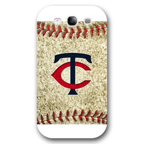 Galaxy S3 Case, Onelee(TM) MLB Minnesota Twins Samsung Galaxy S3 Case [White Frosted Hardshell]