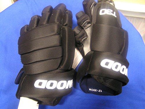 Sherwood T30 Senior Hockey Gloves Black Size 14