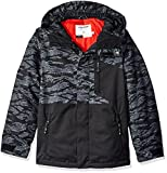 Volcom Big Boys' Elias Insulated Jacket, Camouflage, S