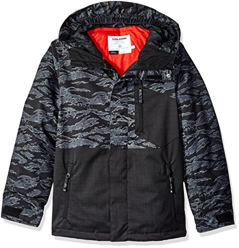 Volcom Big Boys' Elias Insulated Jacket, Camouflage, S by Volcom