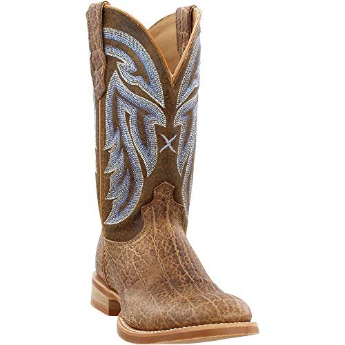 (Twisted X Mens Rancher Boots Elephant Print 11.5D)