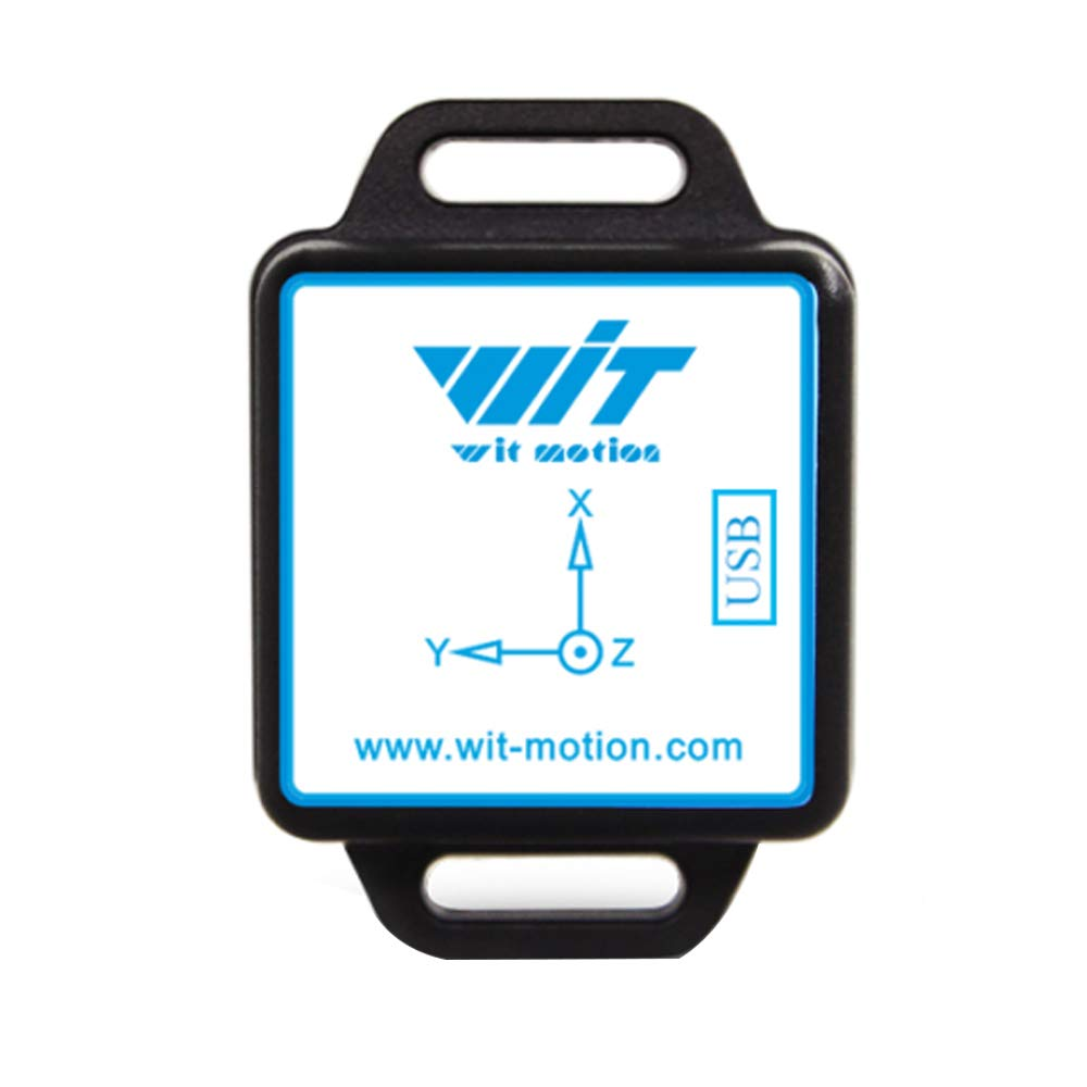 WitMotion WT901BLECL AHRS MPU9250 10-axis Accelerometer, 3-axis Angular Velocity+Acceleration+Angle+Magnet Field (Low-Consumption Ble4.0 Compatible with PC/iOS/Android) for Arduino and More