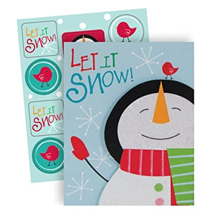 Amazon.com: The Gift Wrap Company 20 Count Boxed Holiday Cards ...