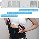 Belly-Band-Holster-Concealed-Carry-Waistband-Gun-Holsters-with-2-Pistol-Mag-Pouch-for-Women-Men-Fits-Taurus-Glock-19-17-42-43-P238-Ruger-LCP-MP-Shield-Sig-Sauer-Ruger-Kahr-Beretta-1911-Etc-Wingswind