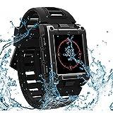 TONGTONG GPS Clock Compass Wristwatch Bluetooth Smart Watch Waterproof Swimming Heart Rate Men's Sport Watch Track