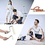 """ETERNA 9 Piece Paint Roller Set, 9""""+4"""" Paint"""