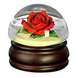 Red Rose Mushroom - Water Globe