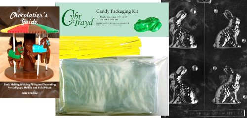 """Cybrtrayd """"Small Sitting Bunny"""" Easter Chocolate Candy Mold"""