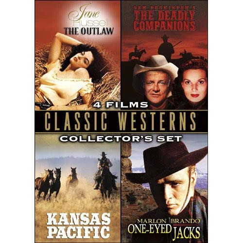 (Classic Westerns Collector's Sets (The Outlaw / The Deadly Companions / Kansas Pacific / One-eyed Jacks))