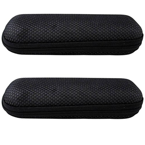Eyekepper EVA Zip Case for Reading Glasses Black(2 pcs) from Eyekepper