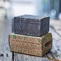Handmade All Natural Herbal Dead Sea Mud Soap bar For Fathers Day Gifts Gifts For Men And For Women (peppermint)