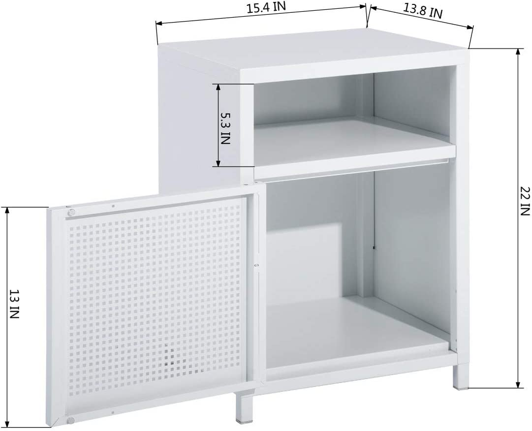 Bedroom Furniture Nightstands Black FurnitureR Metal Locker ...