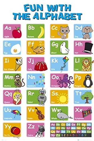 Educational - Learn Your Alphabet - Maxi Poster - 61 cm x 91.5 cm ...