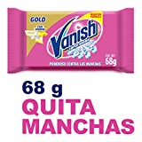 Vanish Jabón Quitamanchas en Barra, color Rosa, 68 g,