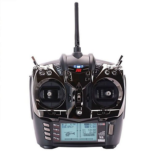 (JR XG8 8-channel DMSS Transmitter w/RG831B Rx, Black)