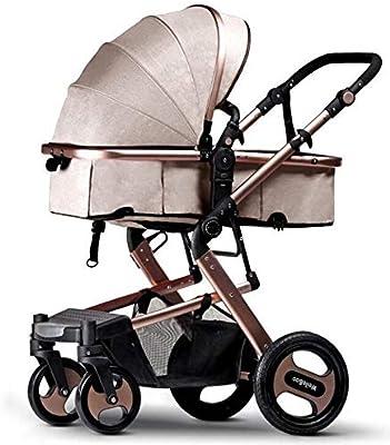 9044de788 Littlefairy Sillas de Paseo,Cochecito de bebé de Alta Vista Puede Sentarse  en un Carro