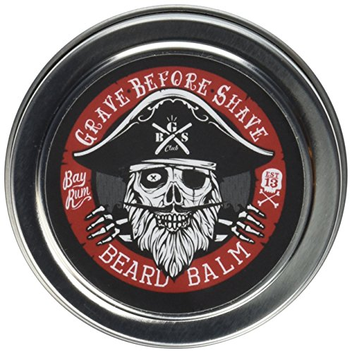 Grave Before Shave™ Bay Rum Beard Balm (4 oz)