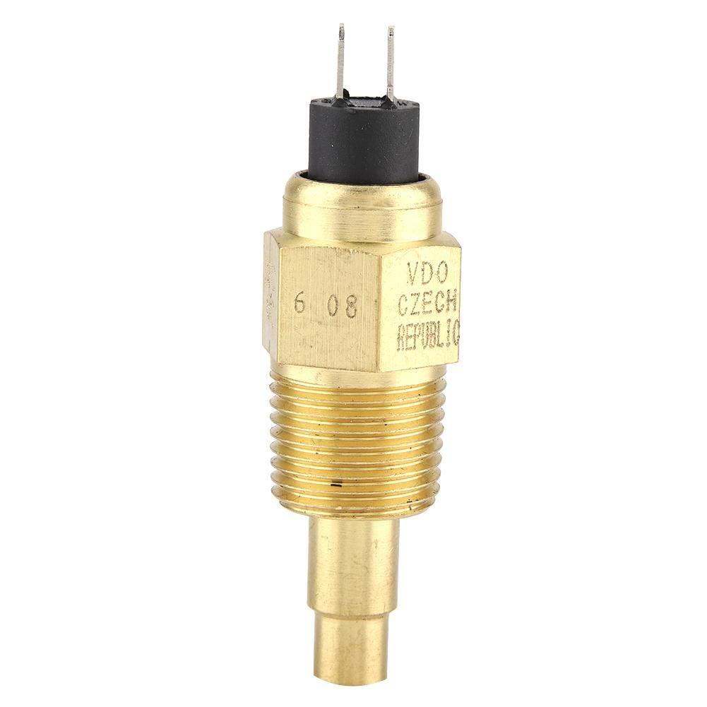 2NPT Wasser VDO Temperatursensor F/ür /Öl Wasser Manometer Temp Sensor Gewinde-in Messing Sonde idalinya 1 St/ücke Hohe Zuverl/ässigkeit 1