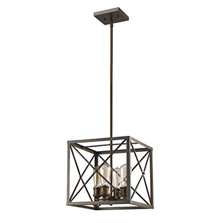 Acclaim Lighting IN21121ORB Brooklyn Indoor 4-Light Pendant, Oil Rubbed Bronze