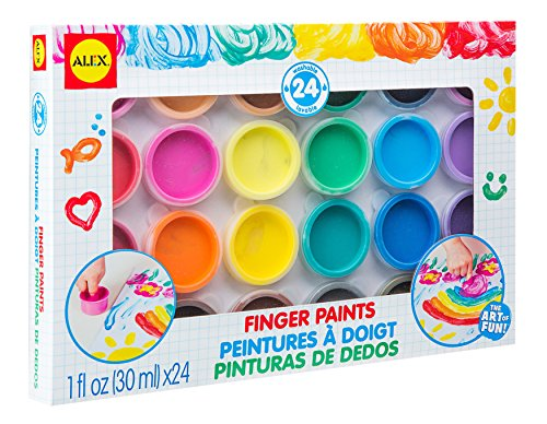 Alex Paint - ALEX Toys Artist Studio 24 Finger Paints