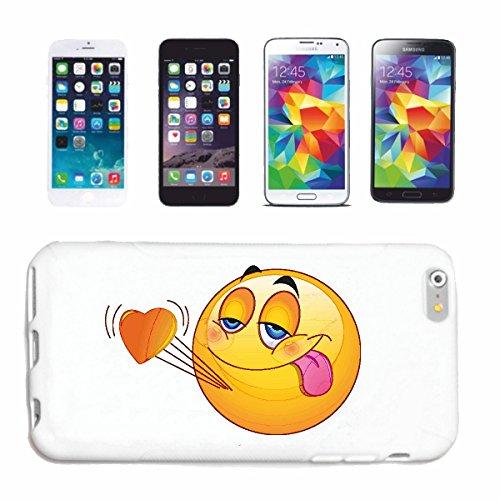 """cas de téléphone Samsung Galaxy S4 i9500 """"IN LOVE SMILEY LETS sa langue SUSPENDU """"sourire EMOTICON APP de SMILEYS SMILIES ANDROID IPHONE EMOTICONS IOS"""" Hard Case Cover Téléphone Covers Smart Cover pou"""