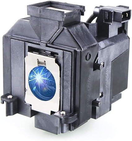 EH-TW9200 Projector PowerLite PC 6020UB 6030UB V13H010L69 Replacement Lamp Bulb for Epson PowerLite HC 5030UB 5030UBe 5010 5020UB 5025UB KOSRAE for ELPLP69