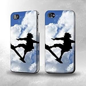 Apple iPhone 4 / 4S Case - The Best 3D Full Wrap iPhone Case - Eureka Renton Thurston Sky Surf