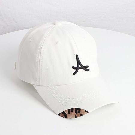 zhuzhuwen Sombrero Mujer Leopardo Doble Suave Tapa de Gorra ...