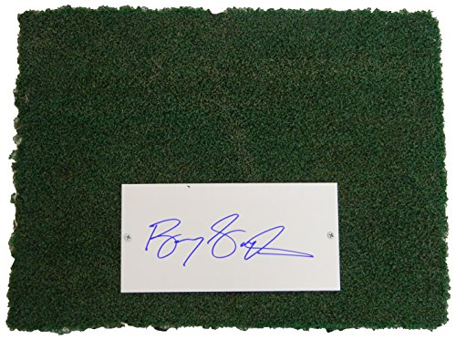 Barry Sanders Signed Detroit Silverdome 12x16 Actual Stadium Used Turf & Autograph (Barry Sanders Autographs)