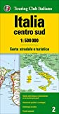 img - for Italy Central and South 2016: TCI. 1:500K (English, Spanish, Italian and German Edition) book / textbook / text book