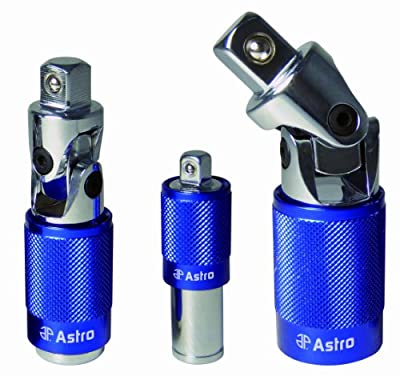 Astro 78817 Two Way Extension Set, 3/8-Inch, 1/2-Inch and 1/4-Inch, 3-Piece