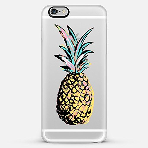Casetify Pastel Party Pineapple iPhone 6 Plus Case (Frosty White)