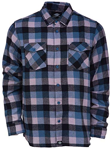 Camisa dark Hombre Dickies Casual Blau Dte Luray Teal aq5PxP