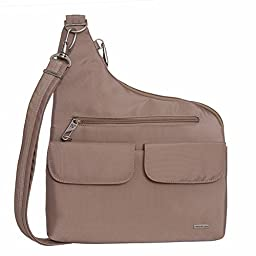 Travelon Anti-Theft Cross-Body Bag (One Size, LIGHT CHAMPAIGN)