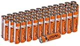 Cheap AA Alkali Battery (Pack of 50) – Long Lasting Performance – Perfect for Daily Use – by Utopia Home