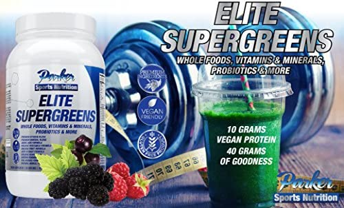 Elite Supergreens is Premium Organic Green Superfood with Very High End Ingredients in All
