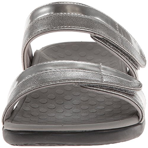 5 gris Sandalias para mujer 38 EU de vestir UK Orthaheel F0TqxPBwx