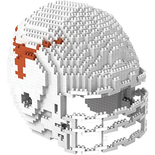 NCAA Texas Longhorns Mini BRXLZ Helmet Building Blocks, One Size, Orange