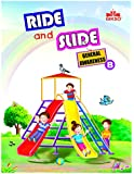Gikso Ride and Slide General Awareness – B with Sticker Activity G. K. Book for UKG Kids Age 3-5 Years