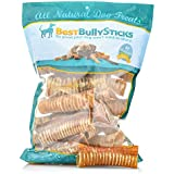 Best Bully Sticks 100% Natural 6-Inch Beef Trachea Dog Chews (20 Pack)